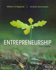 Entrepreneurship 3rd Edition 9781118582893 1118582896