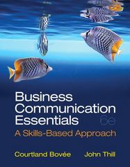 Business Communication Essentials 6th edition 9780132971324 0132971321