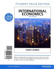 International Economics, Student Value Edition 6th Edition 9780132950145 0132950146
