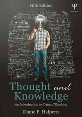Thought and Knowledge 5th Edition 9781848726291 1848726295