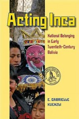 Acting Inca 1st Edition 9780822962328 0822962322