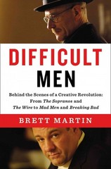 Difficult Men 1st Edition 9781594204197 1594204195