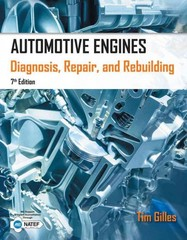 Automotive Engines 7th Edition 9781285441740 1285441745