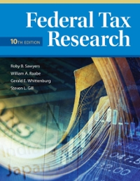 Federal tax research 10th edition rent 9781285439396 chegg federal tax research10th fandeluxe Image collections