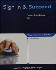 Career Transitions, 1 term (6 months) Printed Access Card 1st Edition 9781285074412 1285074416