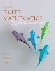 Finite Mathematics and Its Applications Plus NEW MyMathLab with Pearson eText -- Access Card Package 11th edition 9780321913937 0321913930