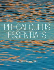 Precalculus Essentials plus NEW MyMathLab with Pearson eText -- Access Card Package 1st Edition 9780321900487 0321900480