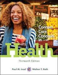 Connect Core Concepts in Health, Loose-Leaf Edition 13th edition 9780077613310 0077613317