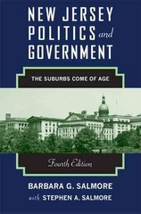 New Jersey Politics and Government 4th Edition 9780813561394 0813561396