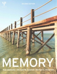 Memory 2nd Edition 9781848721845 1848721846