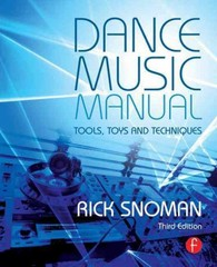 Dance Music Manual 3rd Edition 9780415825641 0415825644