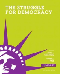 The Struggle for Democracy, 2012 Election Edition 11th Edition 9780205909049 0205909043