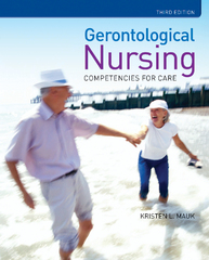 Gerontological Nursing: Competencies For Care 3rd Edition 9781449694647 1449694640
