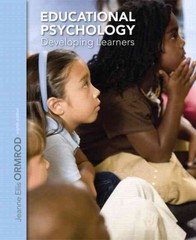 Educational Psychology 8th Edition 9780133395563 0133395561