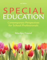 Special Education 4th edition 9780133397390 0133397394