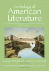 Anthology of American Literature, Volume 1 with NEW MyLiteratureLab --Access Card Package 10th edition 9780321916815 0321916816