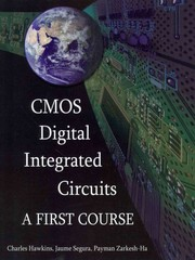 CMOS Digital Integrated Circuits 1st Edition 9781613530023 1613530021