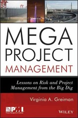 Megaproject Management 1st Edition 9781118115473 1118115473