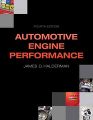 Automotive Engine Performance 4th Edition 9780133027754 0133027759