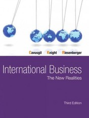 International Business 3rd Edition 9780133254334 013325433X
