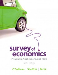 Survey of Economics 6th edition 9780133403862 0133403866