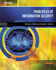 Principles of Information Security 5th Edition 9781285448367 1285448367
