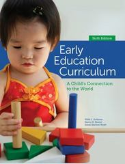Early Education Curriculum 6th Edition 9781285443256 128544325X
