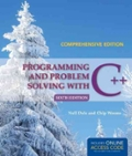 Programming And Problem Solving With C plus plus  Comprehensive