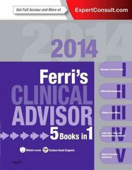 Ferri's Clinical Advisor 2014 1st Edition 9780323083744 0323083749