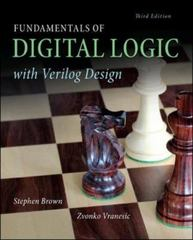 Fundamentals of Digital Logic with Verilog Design 3rd Edition 9780073380544 0073380547