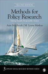 Methods for Policy Research 2nd Edition 9781483310268 1483310264