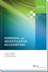 Forensic and Investigative Accounting 6th Edition 9780808034872 0808034871