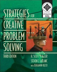 Strategies for Creative Problem Solving 3rd Edition 9780133091663 013309166X
