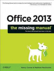 Office 2013 1st Edition 9781449357085 1449357083