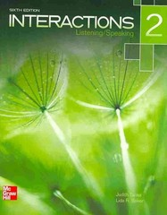 Interactions Level 2 Listening/Speaking Student Book 6th Edition 9780077595197 007759519X