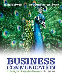 Business Communication 2nd Edition 9780133059519 0133059510
