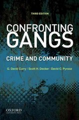 Confronting Gangs 3rd Edition 9780199891917 0199891915