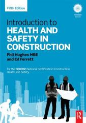 Introduction to Health and Safety in Construction 5th Edition 9780415824361 0415824362