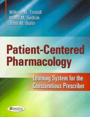 Patient-Centered Pharmacology 1st Edition 9780803625853 0803625855