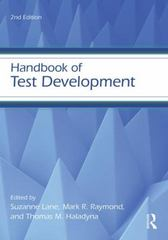 Handbook of Test Development 2nd Edition 9780415626026 0415626021