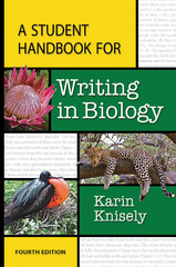 A Student Handbook for Writing in Biology 4th Edition 9781464150760 1464150761
