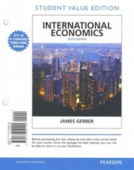 International Economics, Student Value Edition Plus NEW MyEconLab with Pearson eText -- Access Card Package 6th Edition 9780133405033 0133405036