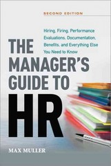 The Manager's Guide to HR 2nd Edition 9780814433027 0814433022