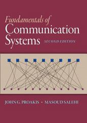 Fundamentals of Communication Systems 2nd Edition 9780133354850 0133354857