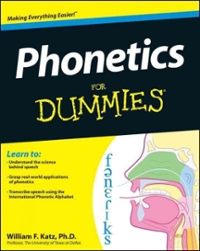Phonetics For Dummies 1st Edition 9781118505083 1118505085