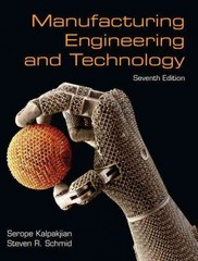 Manufacturing Engineering & Technology 7th edition 9780133151213 0133151212