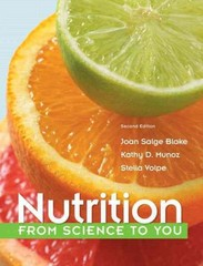 Nutrition 2nd Edition 9780321840530 0321840534