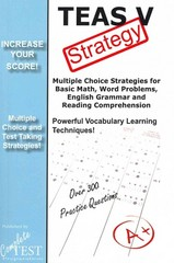 TEAS V Strategy 1st Edition 9781481165884 1481165887