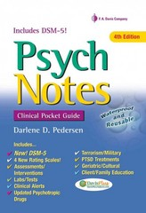 PsychNotes: Clinical Pocket Guide 4th Edition 9780803639225 0803639228