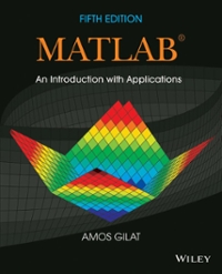 MATLAB 5th Edition 9781118629864 1118629868